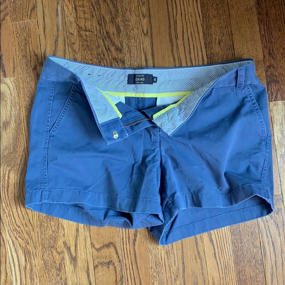 J. Crew Pants - Jcrew Blue 4' stretch chino shorts